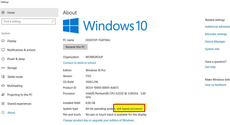 upgrade windows 32bit to 64bit