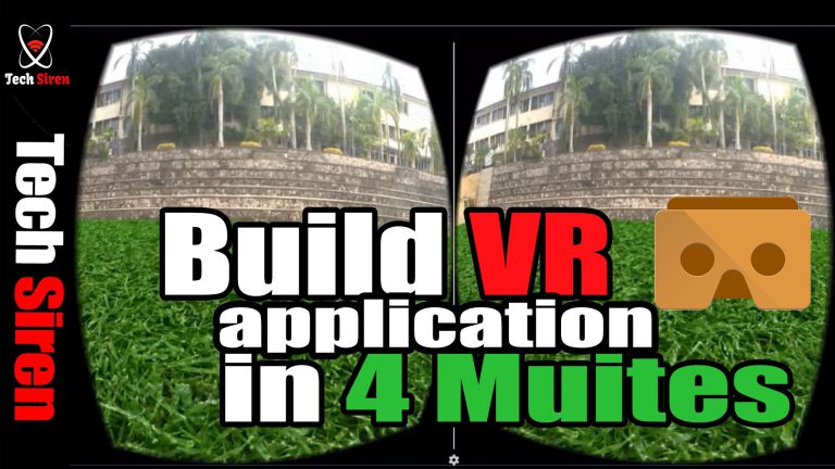 build virtual reality app