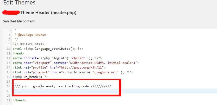 add analytics to website