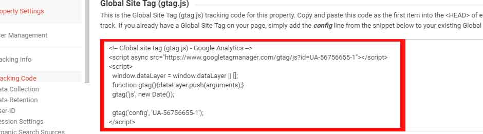 how to add google analytics