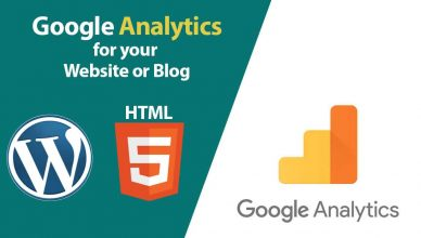 add google analytics to website or blog