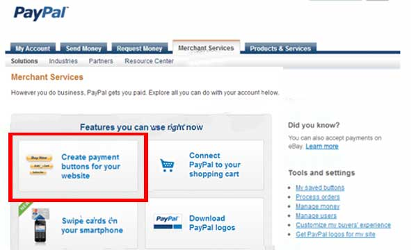 how to add paypal donate button to your website or blog