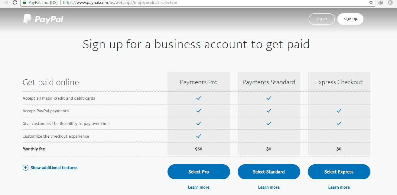 add paypal donate button to your website or blog