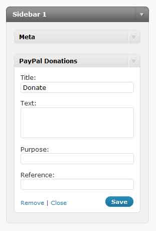 wordpress-donate -plugin