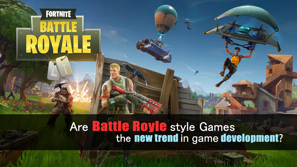 Are battle royale style games the new trend for the